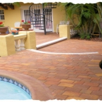 Appian Combo Paver Pool Deck & Patio - Harvest Blend