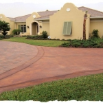 Appian Terra Cotta-Chocolate with Acid Stain Drive