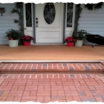 Clay Brick Mortar Set Border-Sand Set Field
