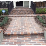 Clay Brick Walk & Steps