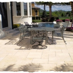 French Pattern Ivory Travertine