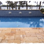 Gold French Pattern Travertine