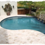 Ivory 6 x 12 Travertine Deck