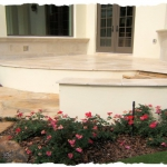 Ivory Travertine-Flagstone Entry