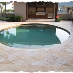 Noce Color Travertine Deck 1