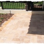 Noce Travertine Walkway