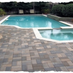 Oak Run 4 x 8 Pool Deck