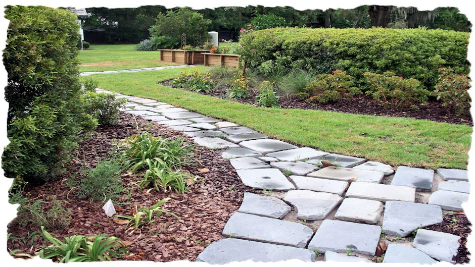 Natural stone gallery - Stepping stones for walkways ...