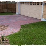 Red-Charcoal 4 x 8 Paver
