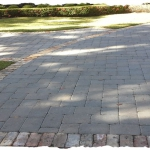 Slate Paver with Used Chicago Border