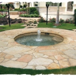 Tennessee Flagstone Fountain