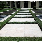 Travertine Courtyard