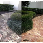 Paver Walkway - Before & After
